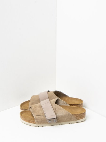 Birkenstock KYOTO shoes - SUEDE TAUPE