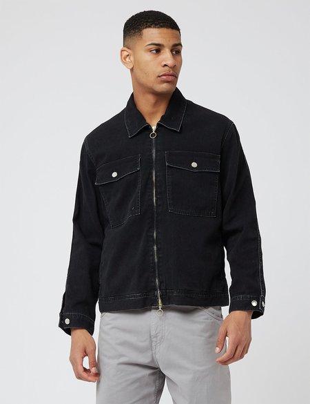 Edwin Sten Zip denim Jacket - Black