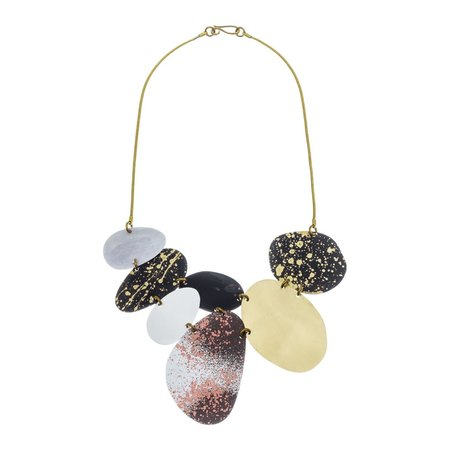 Sibilia Jewelry Beach Stones necklace - Multi