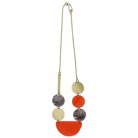 Sibilia Jewelry Color Composition SM necklace - Papaya