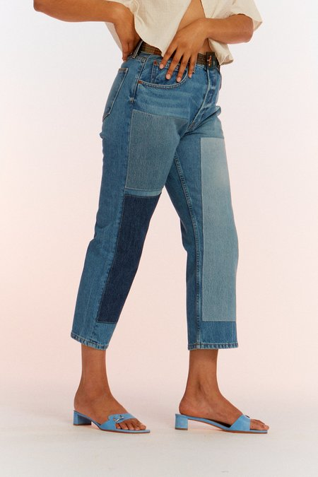 B Sides Marcel Relaxed Straight Jean - Faded Indigo/Tate Vintage