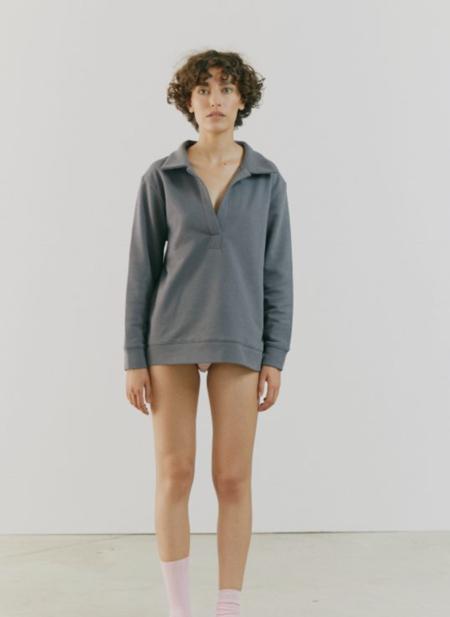 By Signe Dew Polo Sweater - Onyx