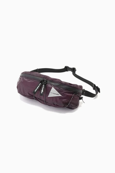and wander Waist Bag - Purple