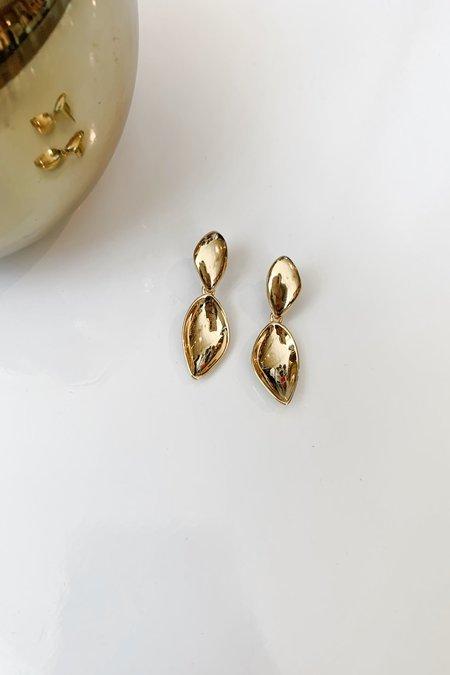 Jenny Bird Dore Detachable Drop Earrings - Gold