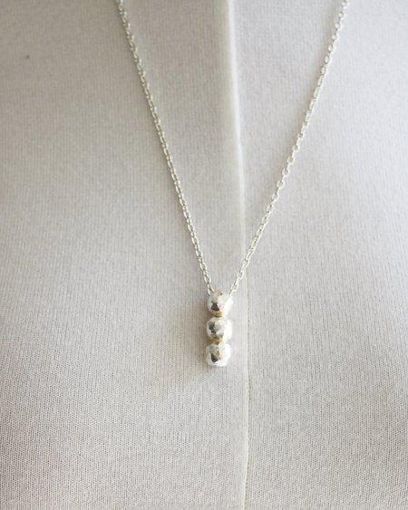 [Pre-loved] Zara Malikova The Triple Trouble Necklace - Silver