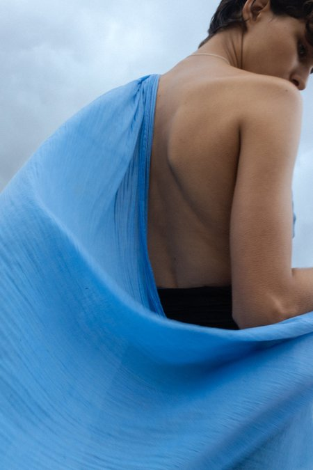 Fourth St Sarong - Blue