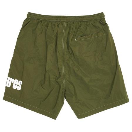 PLEASURES Electric Active Shorts - Green