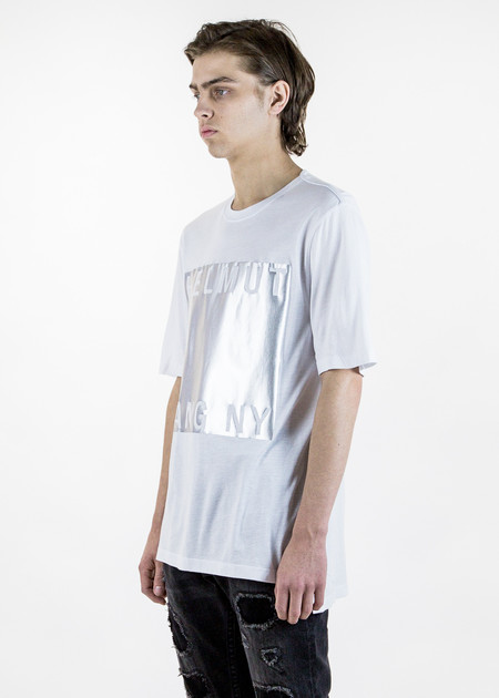 Helmut Lang White Box Film Print T-Shirt