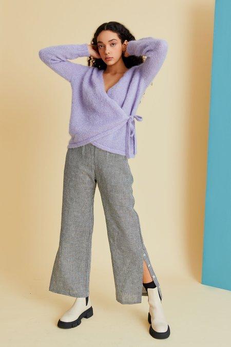 hej hej Moon Trooper Knit sweater - Periwinkle