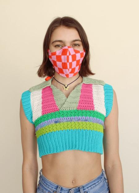Rachel Witus Patchwork Masks