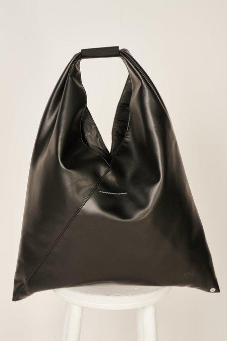 MM6 Maison Margiela Japanese eco leather tote bag - Black