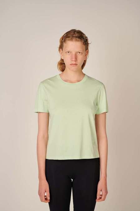 MM6 Maison Margiela Round neck T-shirt - Mint
