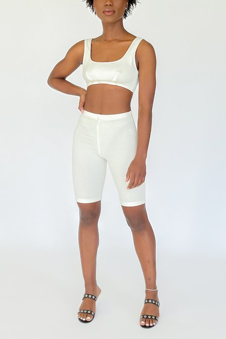 Angie Bauer Maddy Shorts - Alabaster