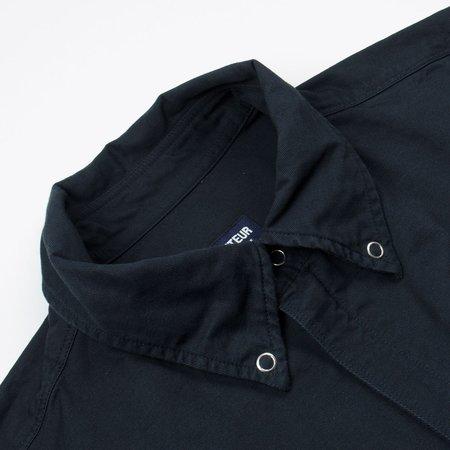Arpenteur Barelli Cotton-Linen Twill Jacket - Navy