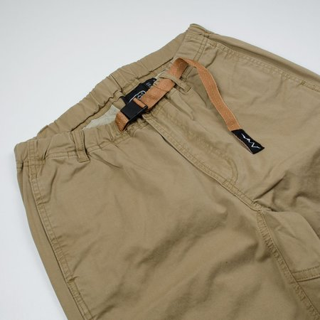 Manastash Flex Climber Shorts - Khaki Beige