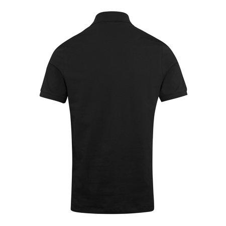 J Lindeberg Rubi Slim Pique Polo - Black