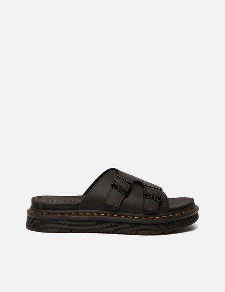 Dr Martens Dax Slip On Sandals - Black Hydro