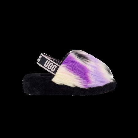 UGG Fluff Yeah Slide Magnolia Women 1117326-MGNL shoes - tie-dye