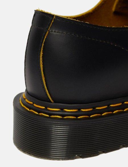 Dr Martens 1461 Double Stitch Shoe - Black/Yellow