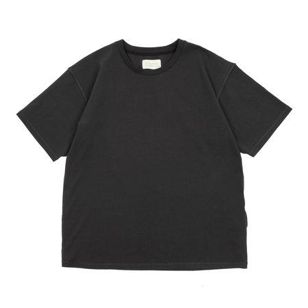 Reborn Double Inside Out T-shirt - Smoke