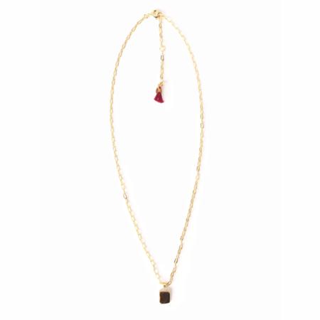Shashi Petite Dynasty Necklace - 18k Gold Vermeil