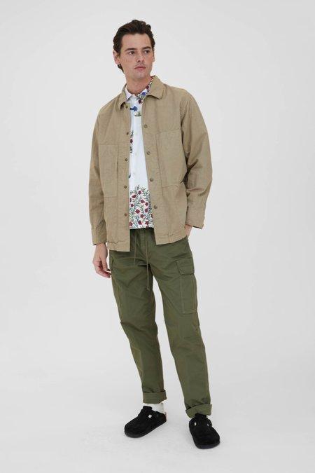 Sage de Cret Cotton Coverall Jacket - Beige