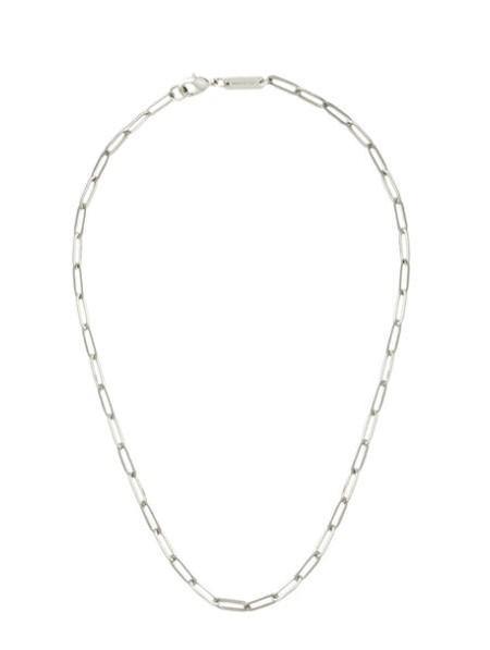 Machete Petite Paperclip Chain Necklace - Silver
