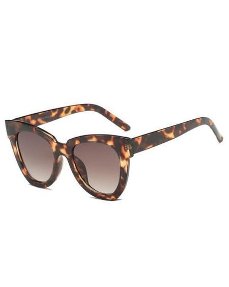 PERSONS Cat Eye Sunglasses - Tortoise