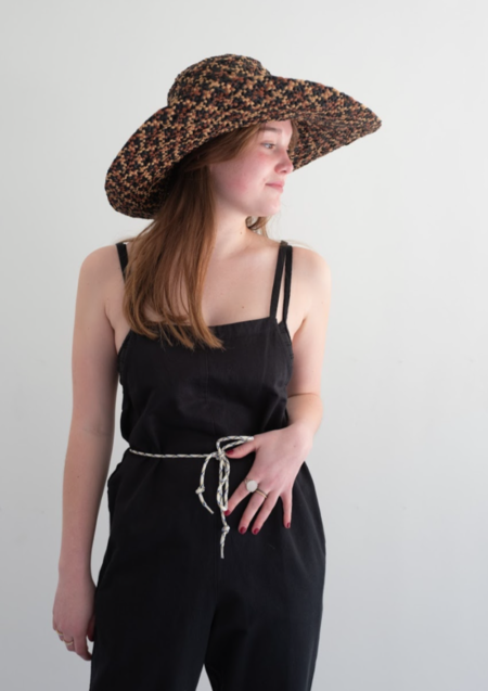 Sans Arcidet Saji Hat - black/natural/clay