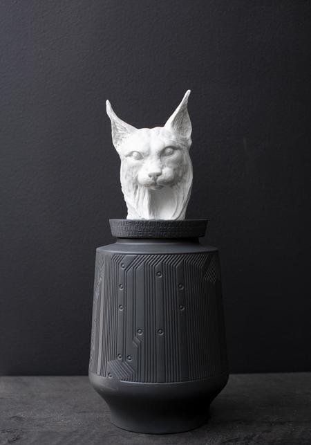 Vista Alegre Iberian Lynx Box