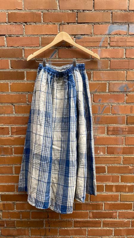 ICHI ANTIQUITES Plaid Skirt