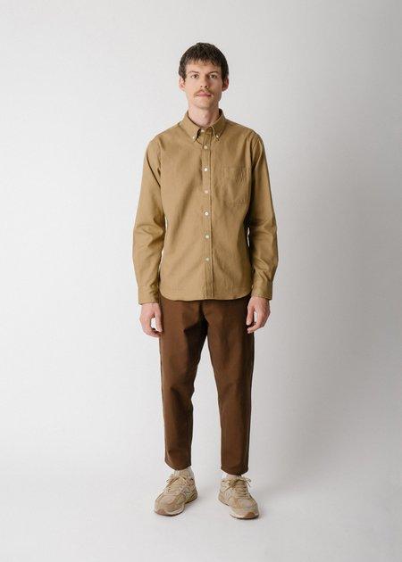 Steven Alan Classic Collegiate Shirt - Earth Oxford