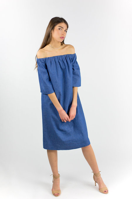 THIRD FORM Free Fall Dress - Denim