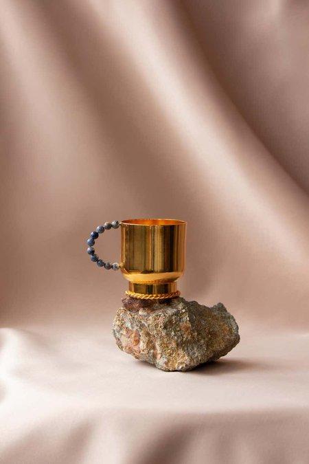 Natalia Criado Perla Cup - gold plated
