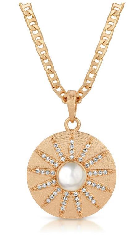 Joy Dravecky Stargazer Necklace - Gold