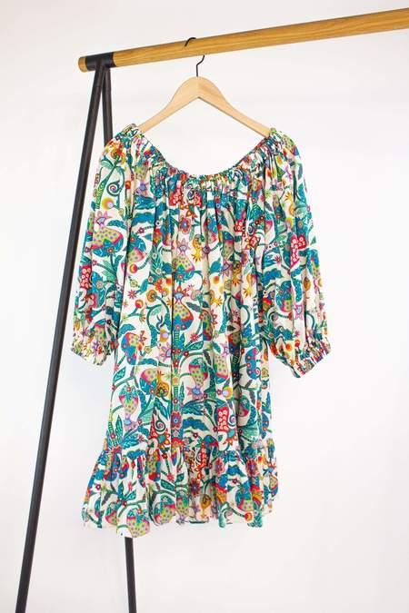 La Double J Short Paloma Dress - Tree of Life