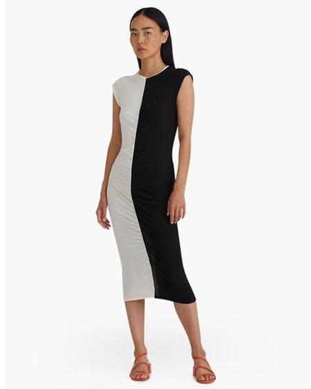 Paloma Wool Domino Bicolored Jersey Dress
