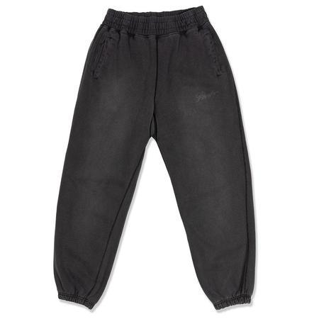 AWAKE Sunbleached Logo Sweatpants - Black