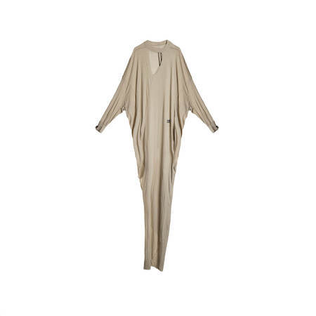 Rick Owens Drkshdw Eclipse Gown Dress - Pearl