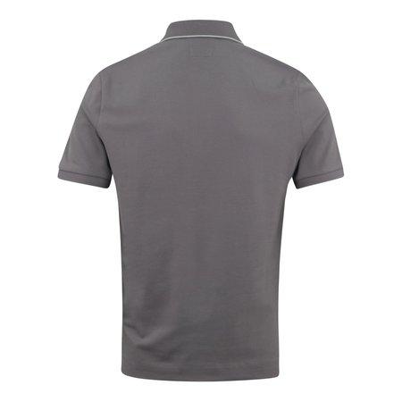 C.P. Company Tipped Polo Shirt - Charcoal