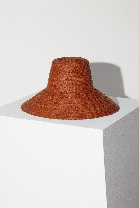 Janessa Leone Janine Bucket Hat - Chestnut