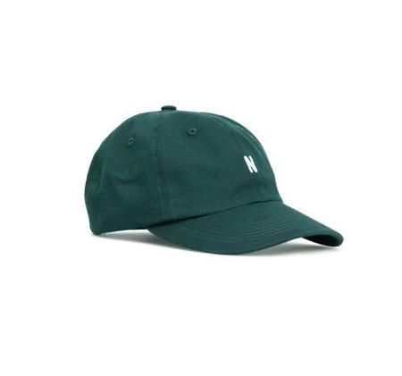 Norse Projects Twill N Sports Cap - Forest