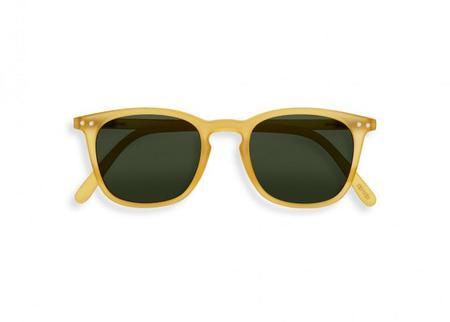 Izipizi #E Sunglasses - Yellow Honey/green
