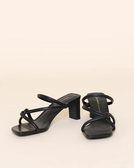 """""""INTENTIONALLY __________."""" Willow Shoe - Black"""