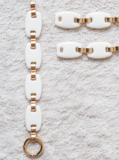 K&J Gerty Bracelet - Cream