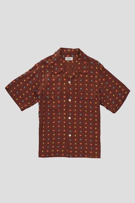 Chimala Video Print Camp Shirt - Original Shapes