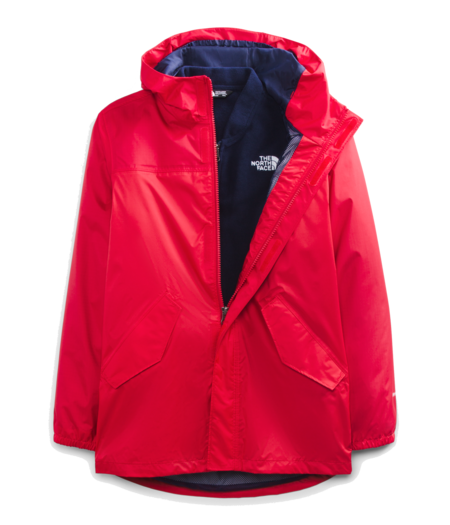 THE NORTH FACE Youth Stormy Rain Triclimate - TNF Red