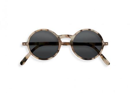 UNISEX Izipizi #G Sunglasses - Light Tortoise/green