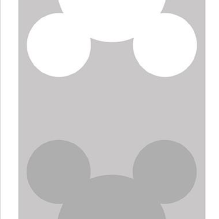 COOEE Grey Mouse Print