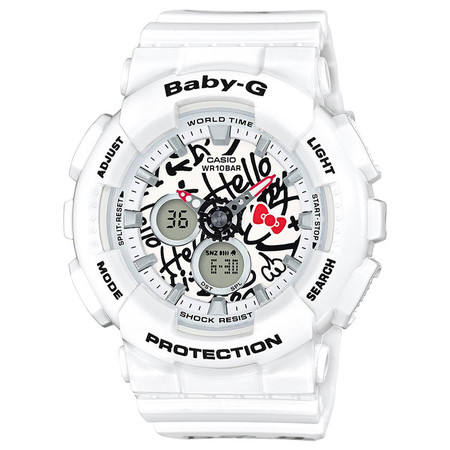 G-SHOCK BABY G X HELLO KITTY - WHITE